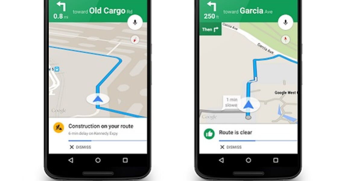 Handys mit Google Maps