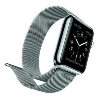 Apple Watch in Silber
