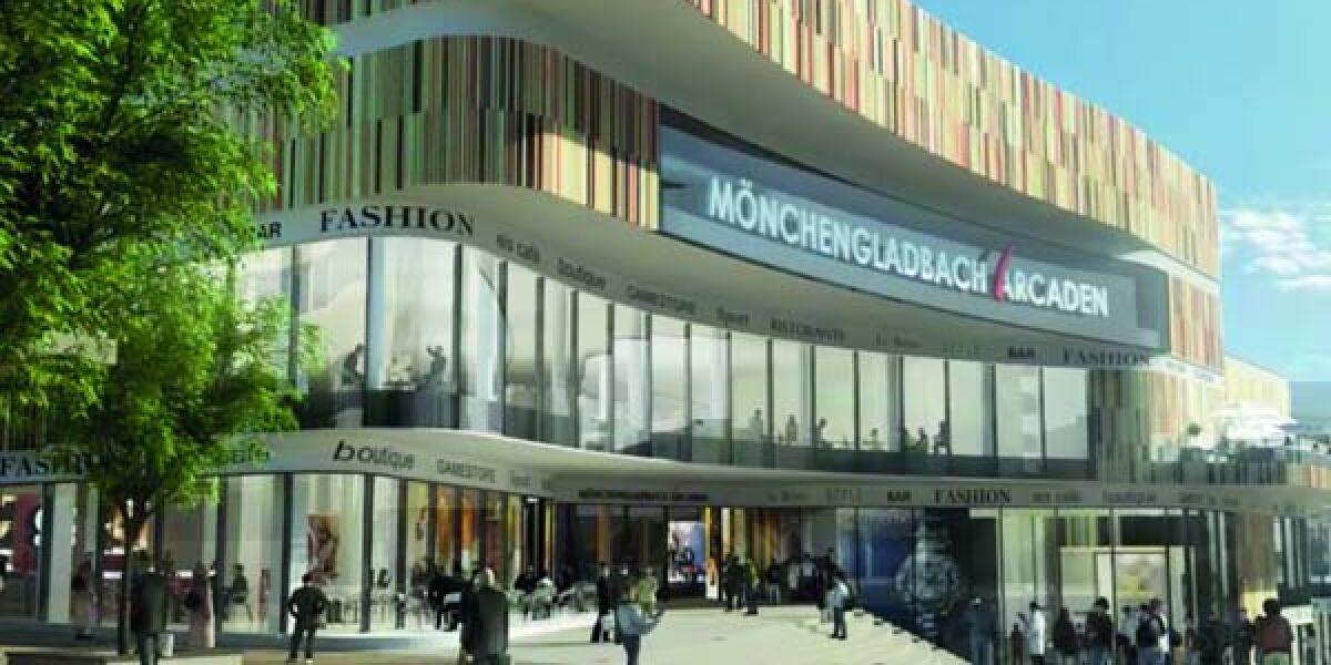 Fassade der Mönchengladbach-Arcaden