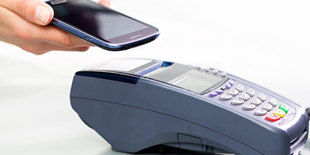 Kartenlesegerät mit Smartphone