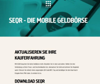 Website von SEQR