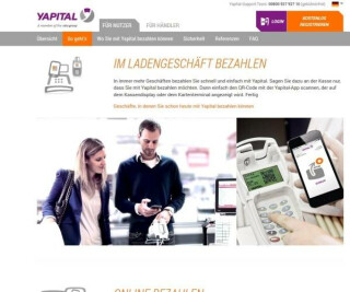 Website von Yapital