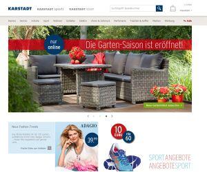 Karstadt.de Screenshot