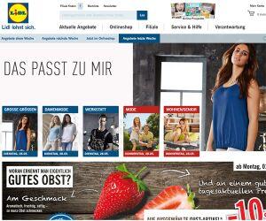Lidl.de Screenshot