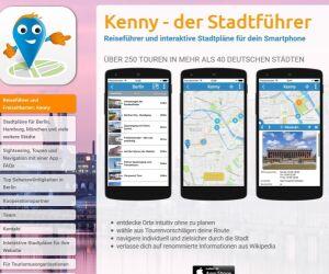 Website von Kenny-Tours