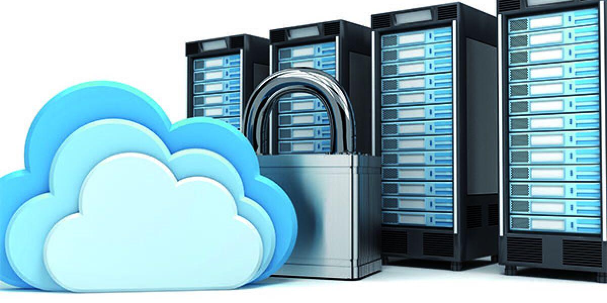 Clouds, Schloss und vier Computer
