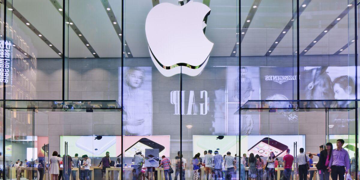 Bild von einem Apple Store