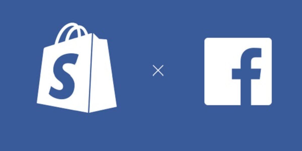 Facebook Shopping Symbole