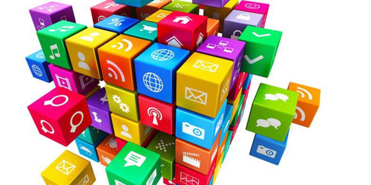 Buchstabenwürfel mit Apps