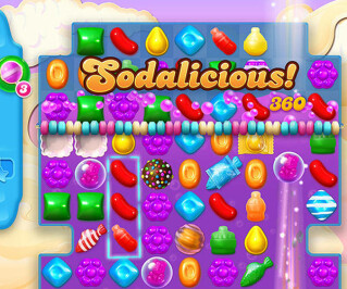 Candy Crush Soda Screenshot