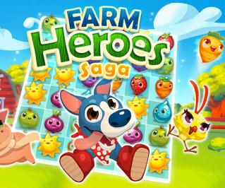 Farm Heroes Logo