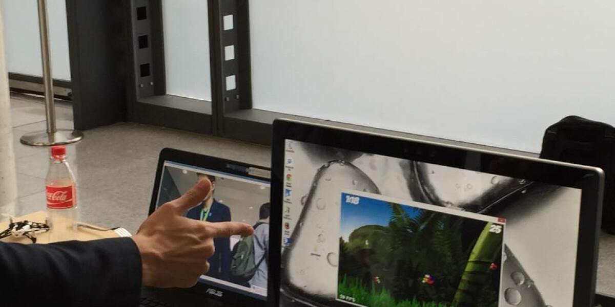 Augmented Reality auf der Developer Week im Einsatz