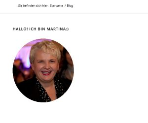 Blog Martina Fuchs