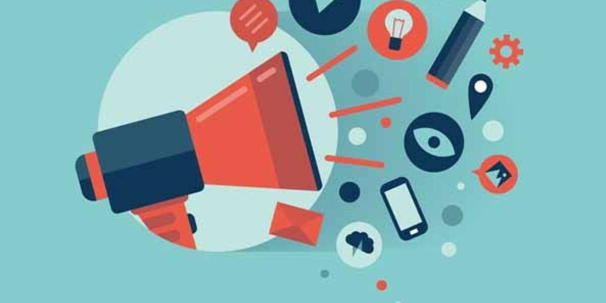 Grafik zum digitalen Marketing