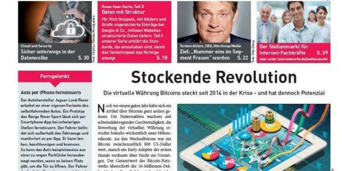 Cover der Ausgabe 13 der INTERNET WORLD Business