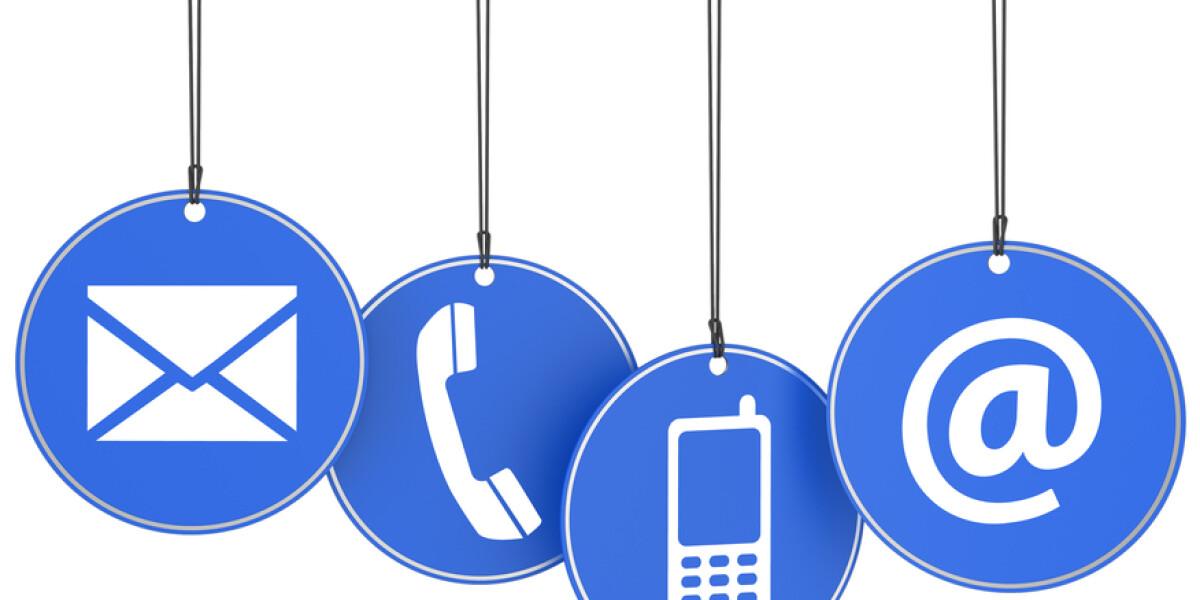 E-Mail,Telefon, Handy Symbole