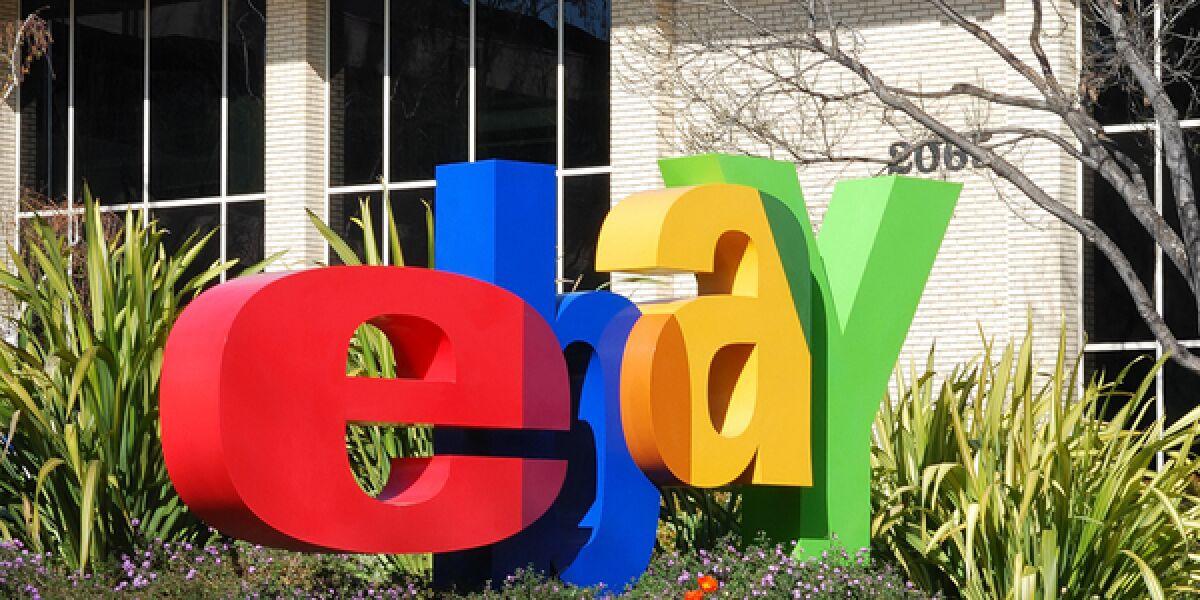 eBay Buchstaben