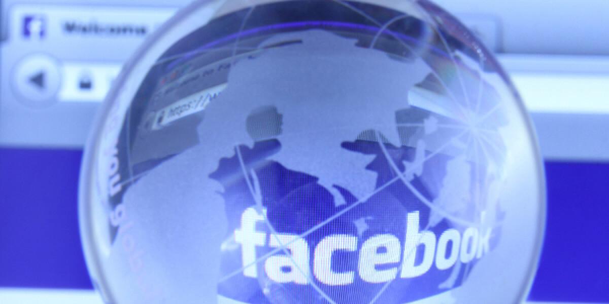 Facebook Schriftzug