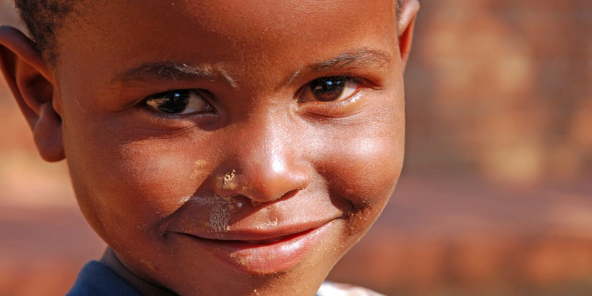 Kind in Afrika