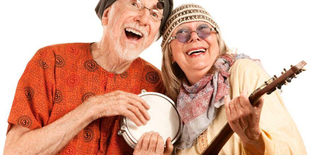 Senioren machen Musik