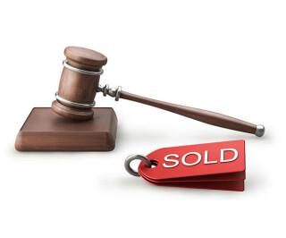 Auktion Hammer Verkauft