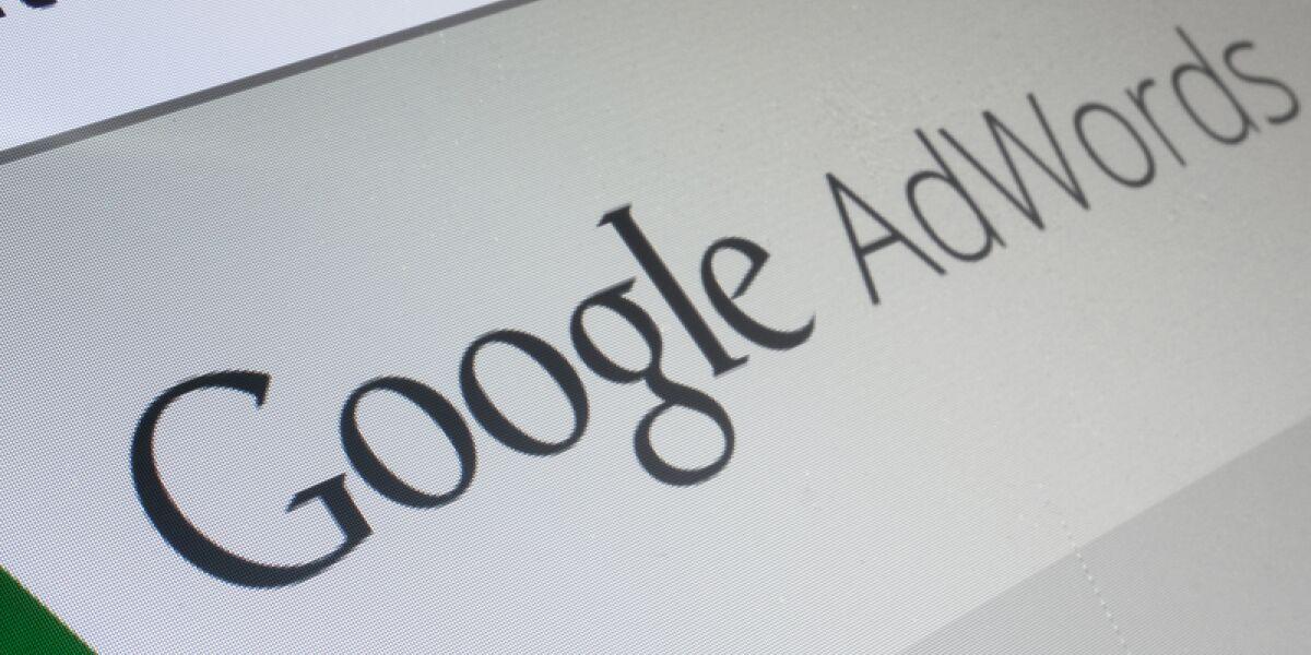 Google Adwords Startseite
