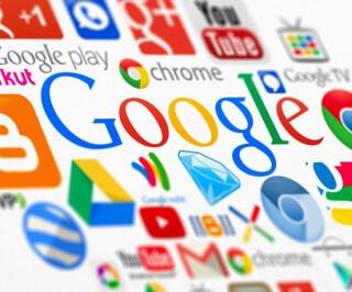 Google Logo und Dienste