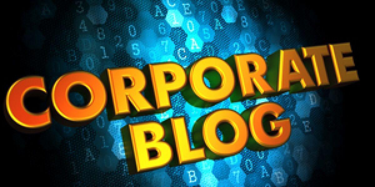 Corporate Blog