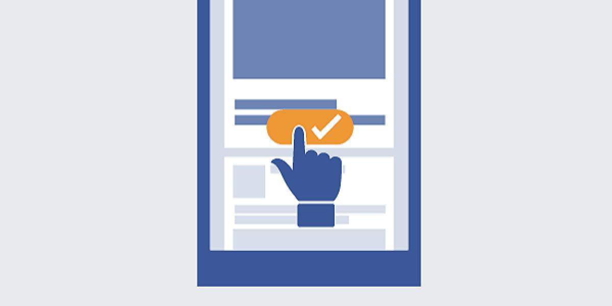 Facebook Symbol Handy