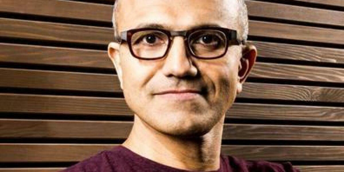 Führt Microsoft mit harter Hand: Satya Nadella