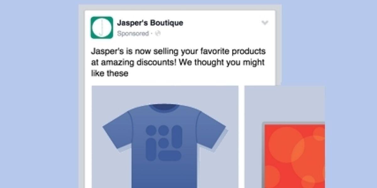 Facebook dynamic produt ads