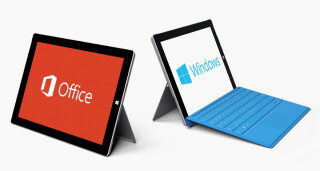 Microsoft Surface-Tablet mit Office