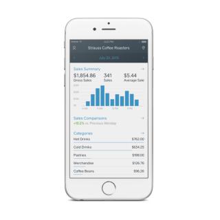 Square Dashboard-App