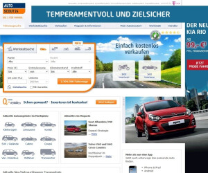 Website von AutoScout24