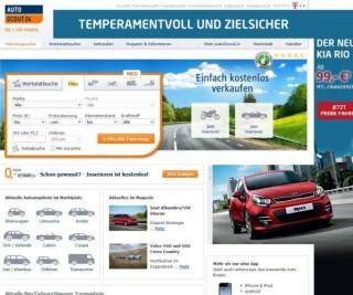 Website von AutoScout24