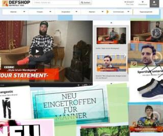 Website von DefShop
