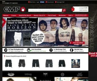 Website von EMP
