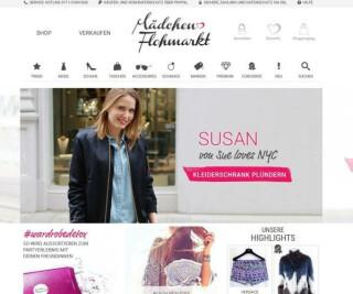 Website von Maedchenflohmarkt
