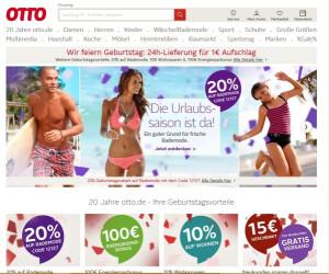 Website von Otto