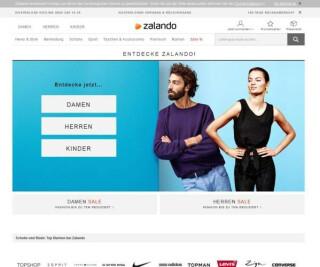 Website von Zalando