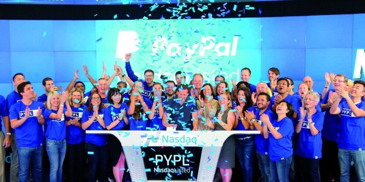 Paypals Börsengang nach dem Aktiensplit 2015