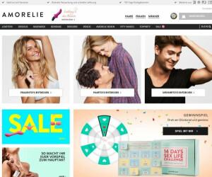 Screenshot von Amorelie.de