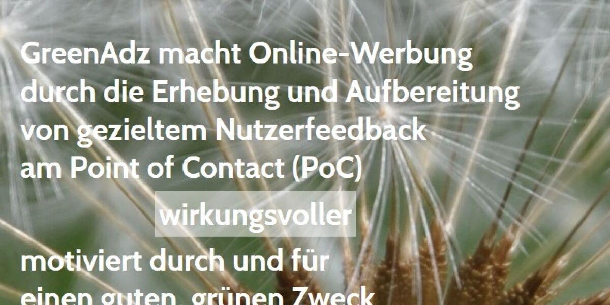 Website von GreenAdz