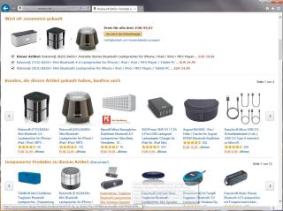 Empfehlungen: Laut Amazon entfallen 30 Prozent der Verkäufe auf Analytics-gestützte Produktempfehlungen.