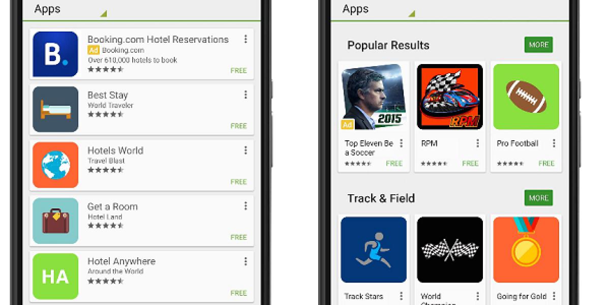 Smartphones mit Google App Store