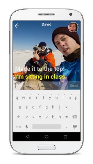 Yahhoo App Livetext