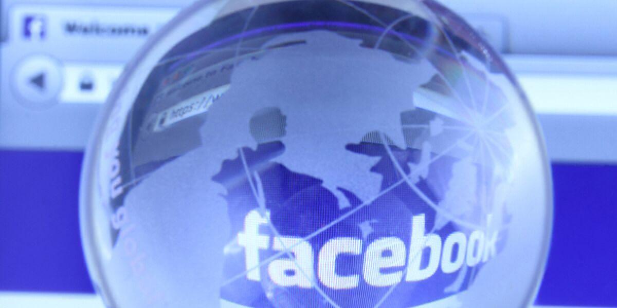 Facebook Weltkugfel