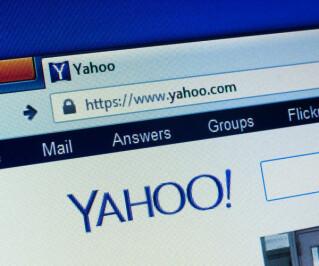 Website von Yahoo