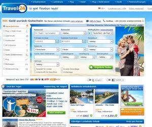 Website von Travel24