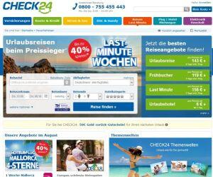 Website von Check24